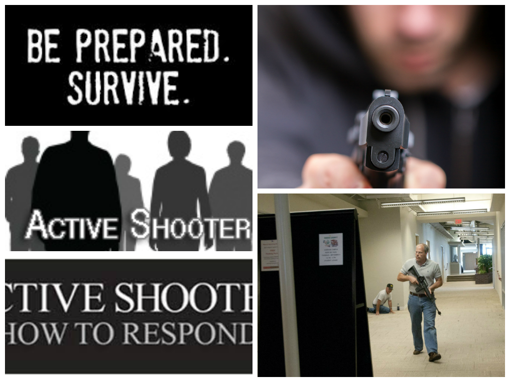 active shooter how to respond poster